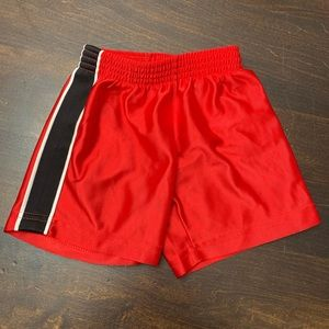 Cute Red Athletic Shorts